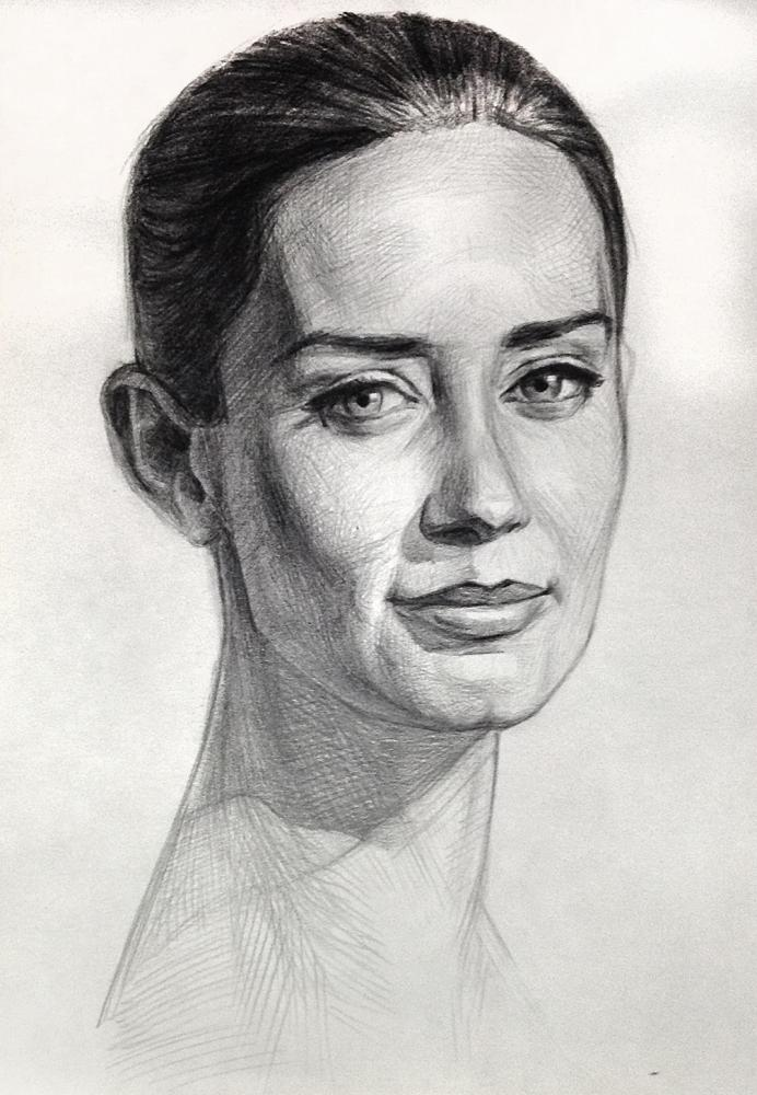 Emily Blunt by MikeNevermind